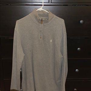 Polo Ralph Lauren grey 1/4 zip